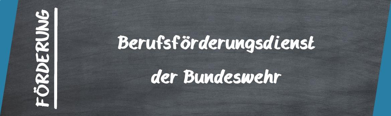 Förderung der Bundeswehr