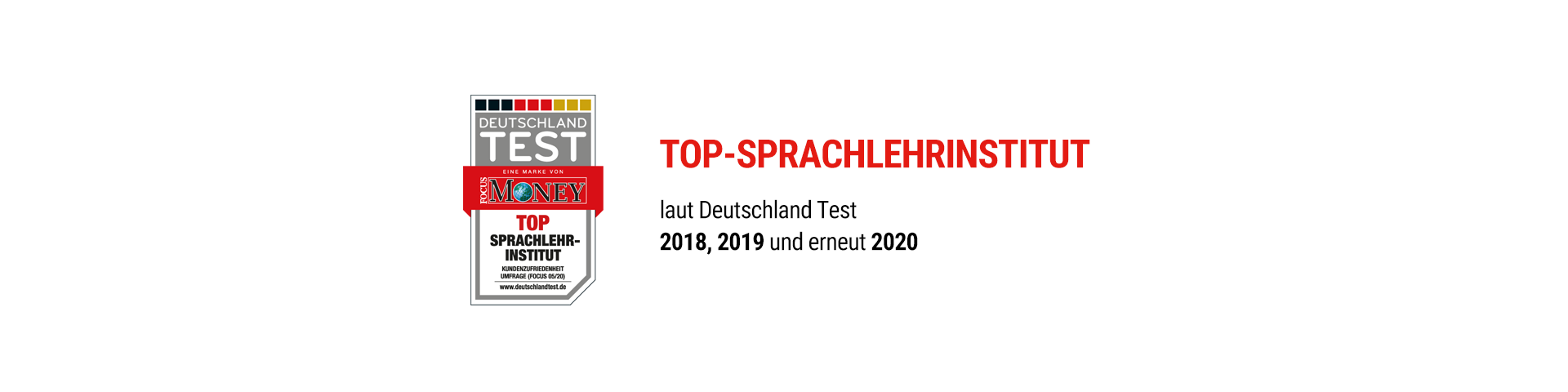 Top Sprachlehrinstitut 2020